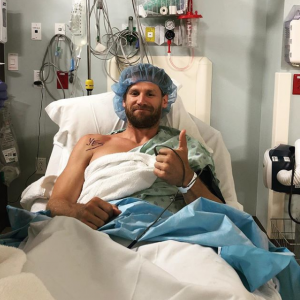 Chase Rice is Upset with Doctor's Orders Following Surgery