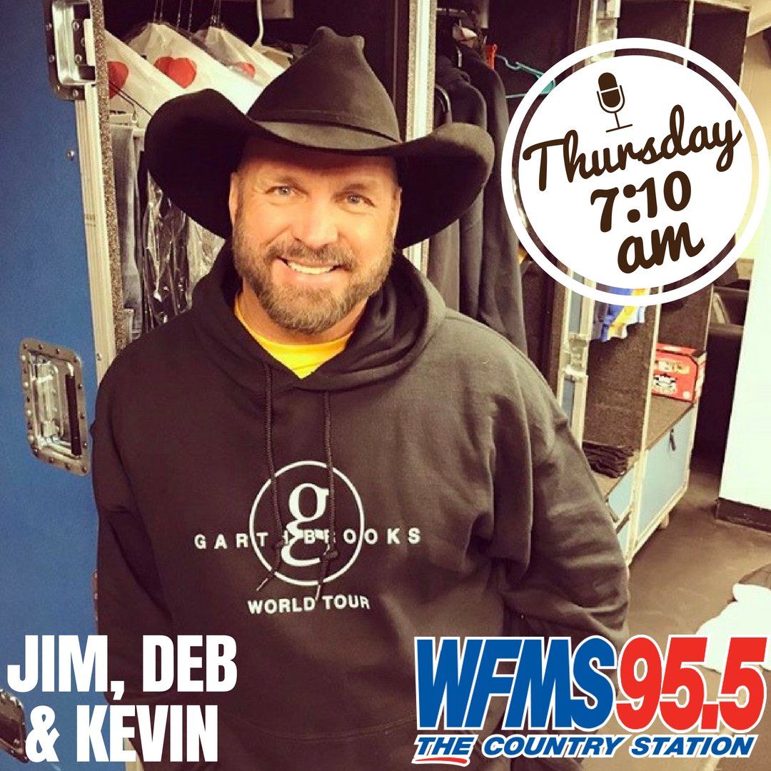 Garth is Returning to Indiana (and Chats with Jim, Deb & Kevin!)