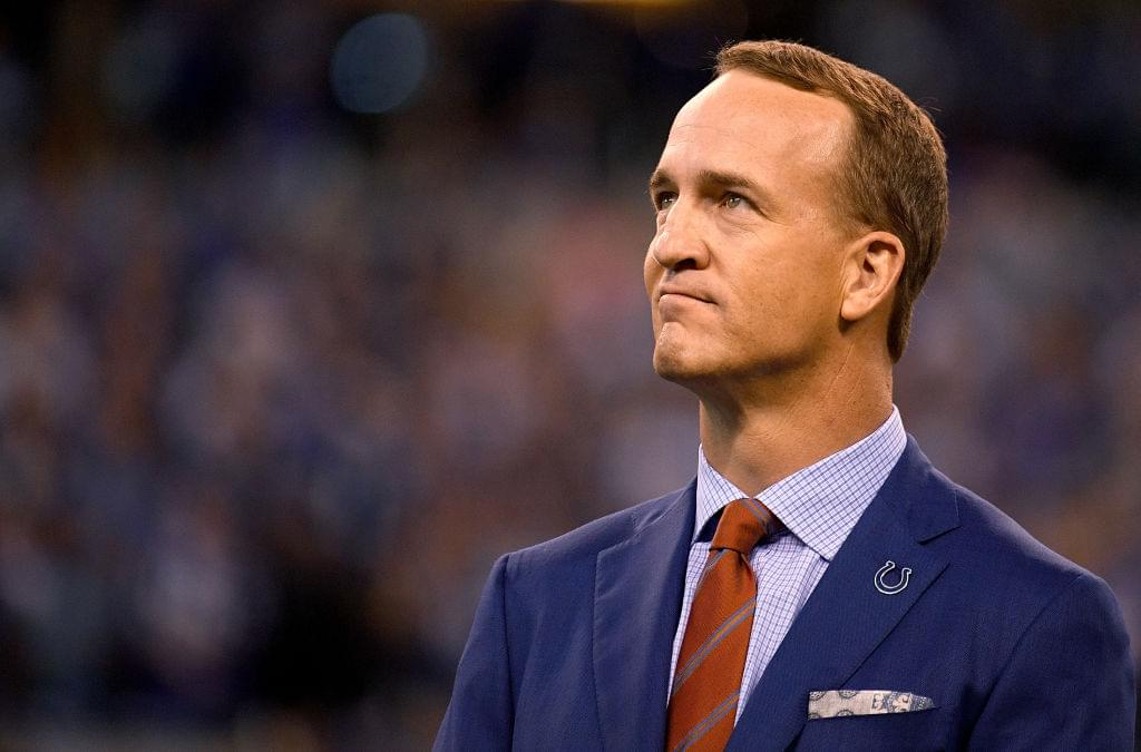 Peyton Manning Launching A Line Of Bourbon