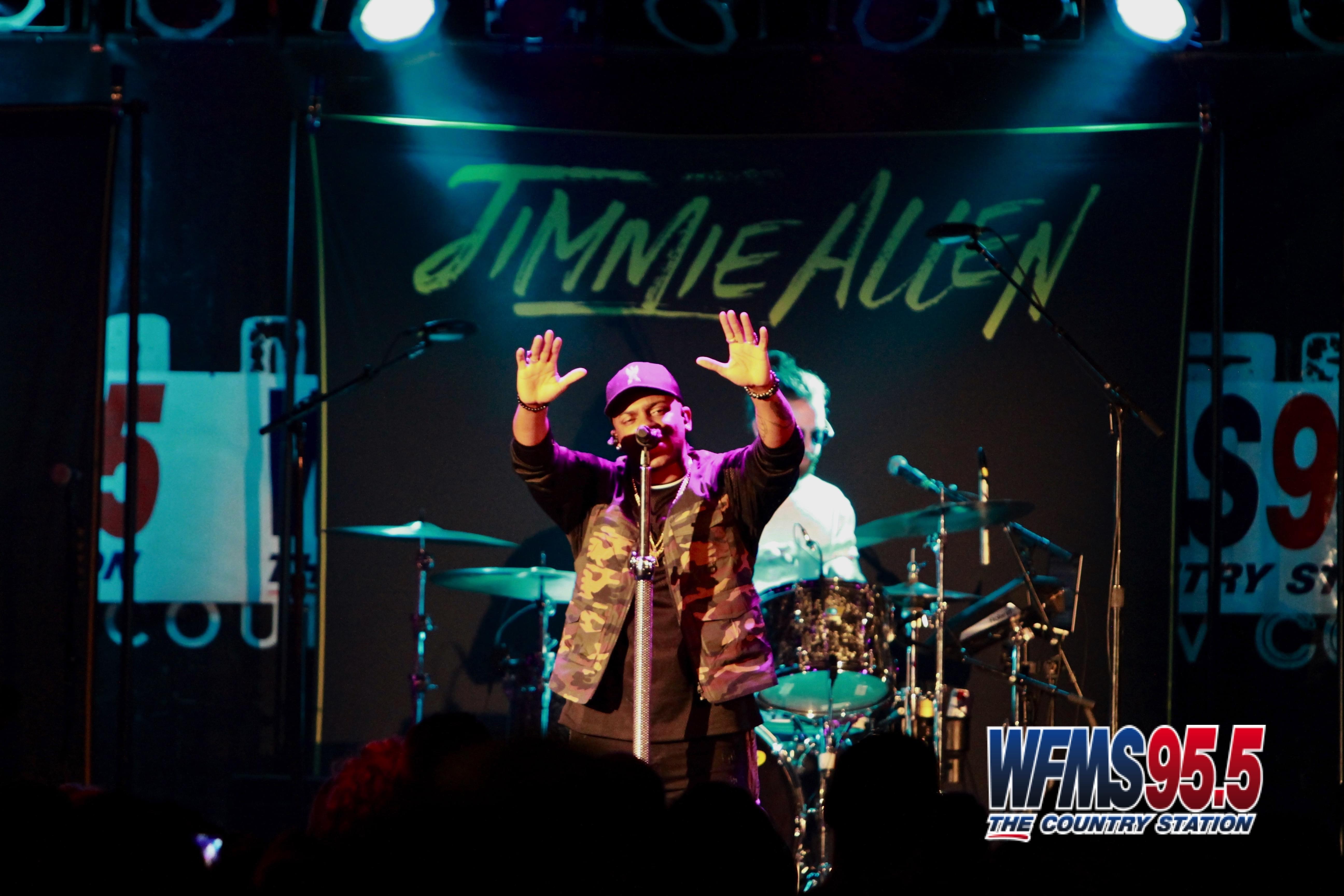 Jimmie Allen & Clayton Anderson Concert Photos