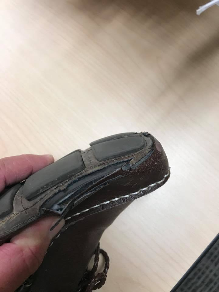 It's Hard To Throw Away A Good Pair of Shoes!
