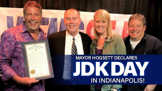 "Mayor Hogsett declares June 14th, 2019 ""Jim, Deb & Kevin Day"" in Indianapolis!"