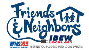 95.5 WFMS & IBEW 481 Friends & Neighbors