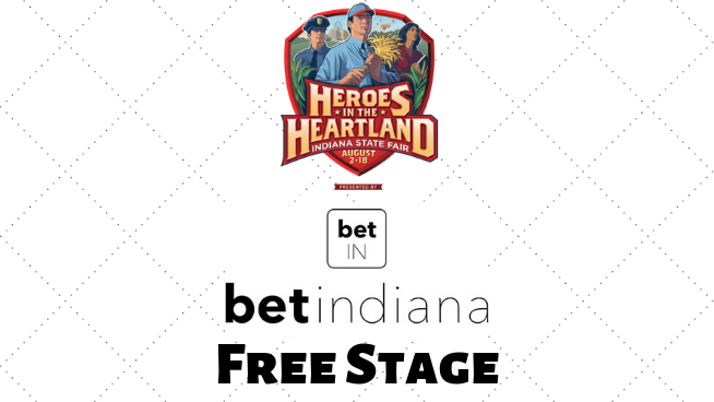 Full BetIndiana Free Stage Concert Lineup