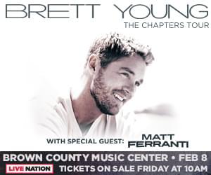 February 8 – Brett Young