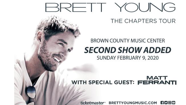 February 9 – Brett Young