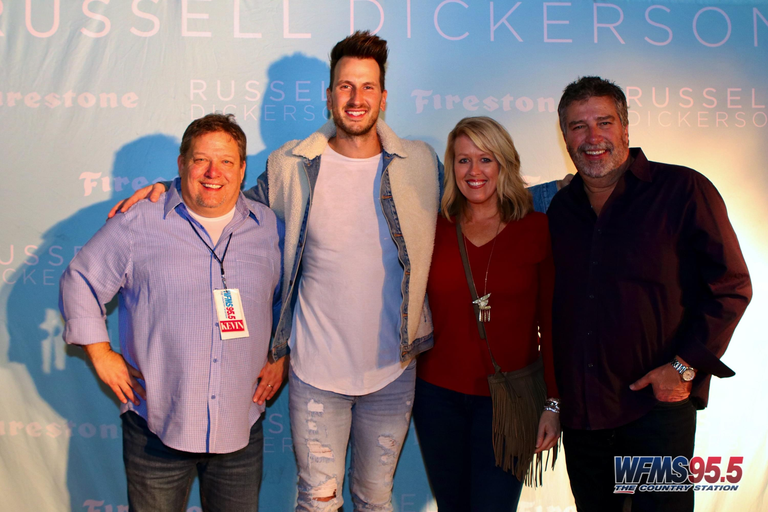 Russell Dickerson Meet and Greet Photos 11/22/2019