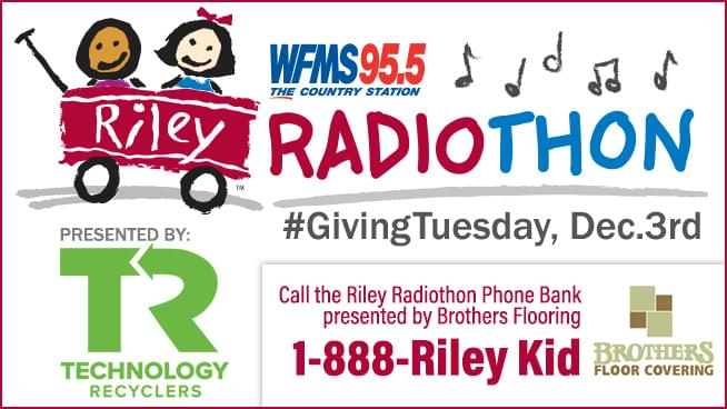 Riley Radiothon presented by Technology Recyclers