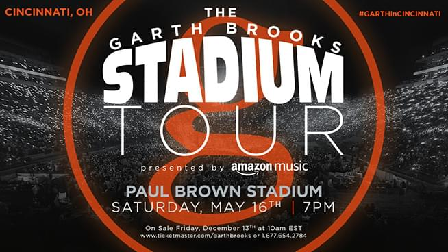 May 16th – Garth Brooks Stadium Tour – SOLD OUT