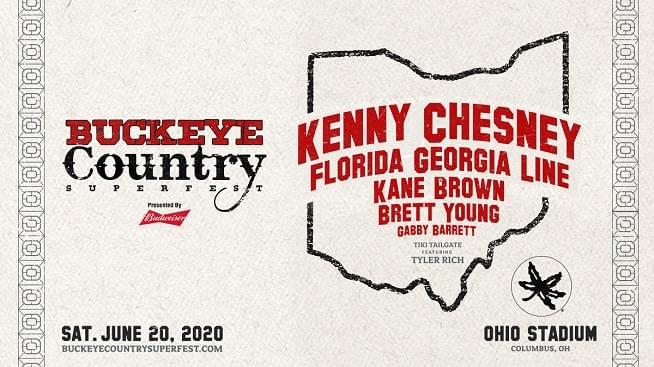 Win Buckeye Country SuperFest Tickets!
