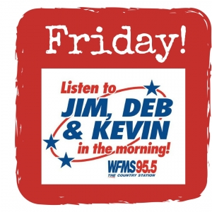 DEB'S NEW NIECE, KEVIN'S VOICE, AND JIM JOINS GYM = FRIDAY SONG!