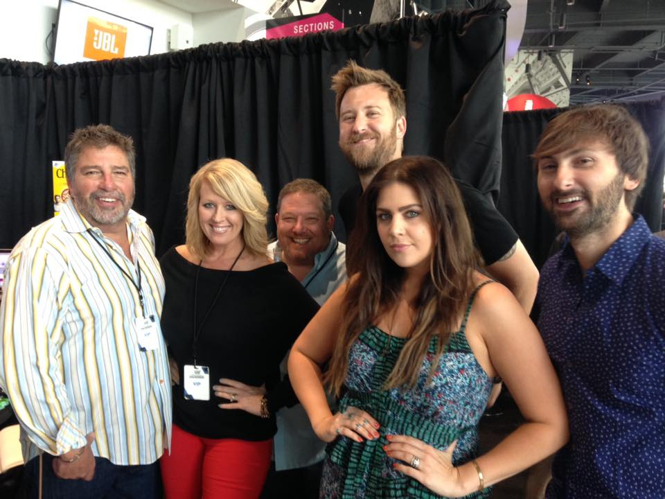 Lady Antebellum takes a break from each other