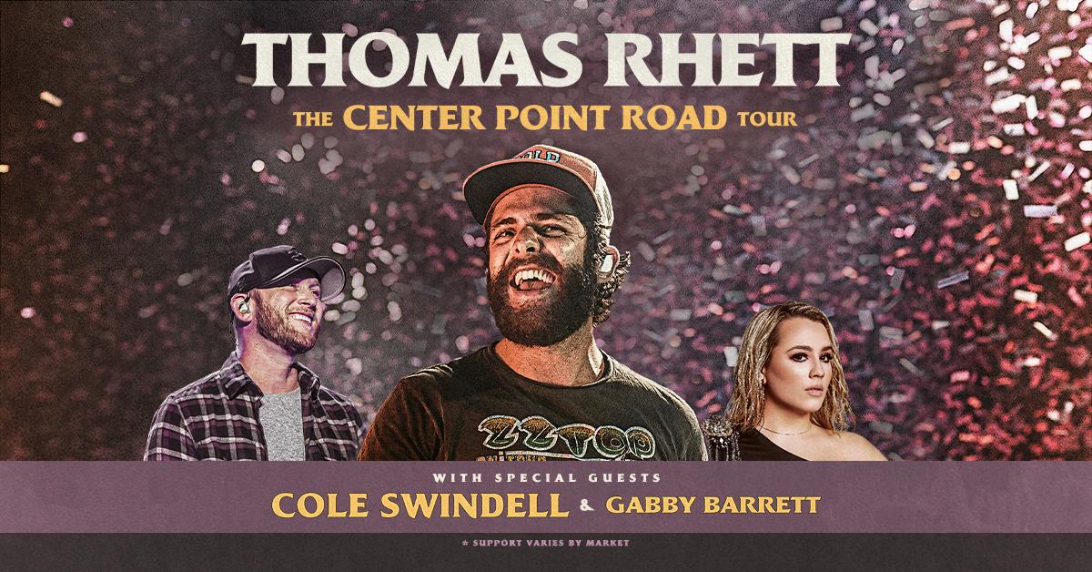 September 24, 2021 – Thomas Rhett NEW DATE