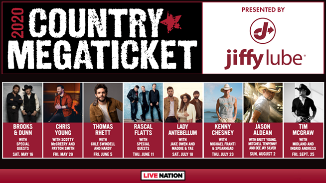 JIffy Lube Country Megaticket