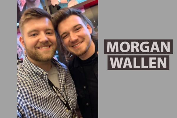 Brooks Chats With Morgan Wallen
