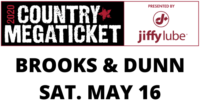 May 16 – Brooks & Dunn