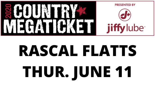 June 11 – Rascal Flatts