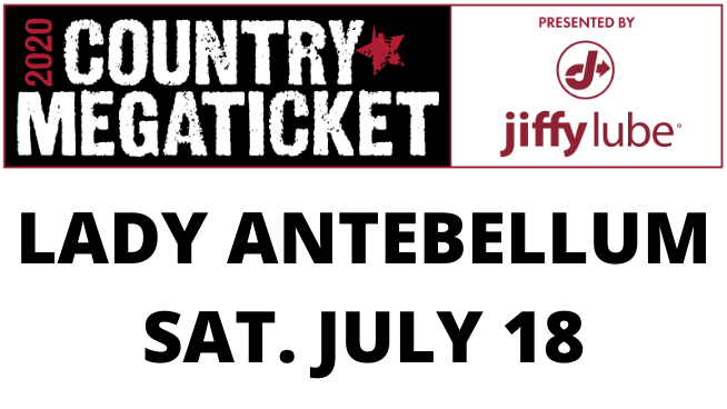 July 18 – Lady Antebellum CANCELLED