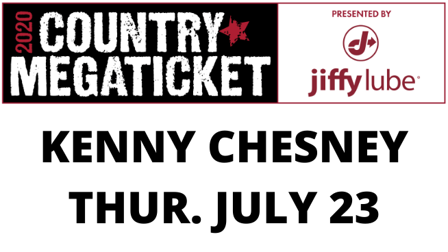 July 23 – Kenny Chesney POSTPONED