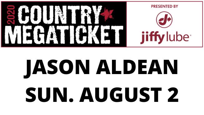 August 2 – Jason Aldean POSTPONED
