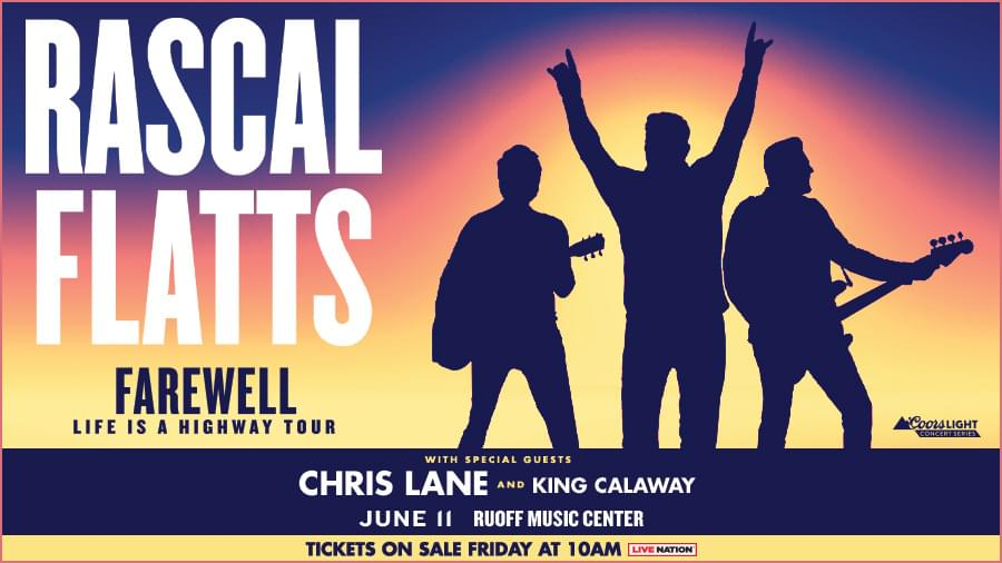 August 13 – Rascal Flatts CANCELLED