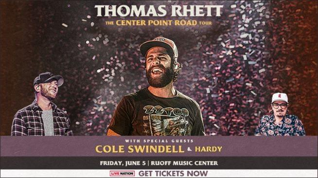 Win Thomas Rhett Tickets!