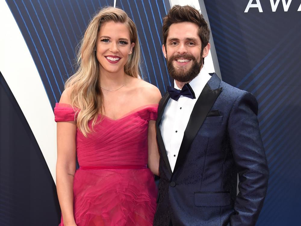Thomas Rhett & Wife Lauren Welcome Third Child [PHOTOS]