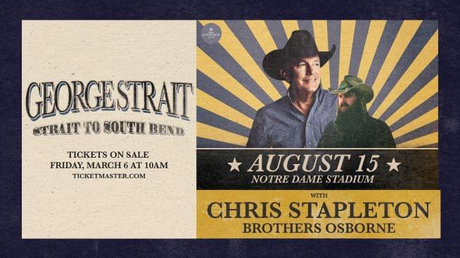 August 7, 2021 – George Strait NEW DATE