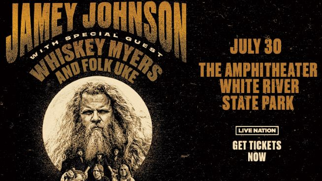 June 25 – Jamey Johnson NEW DATE