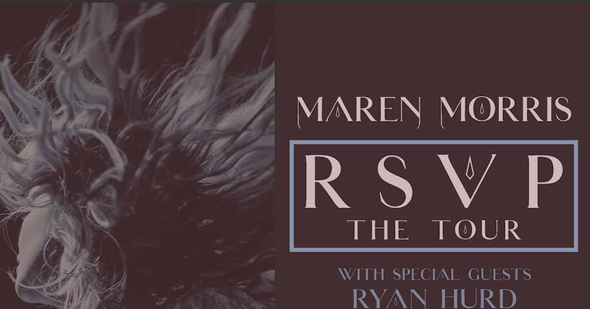 June 9, 2021 – Maren Morris NEW DATE