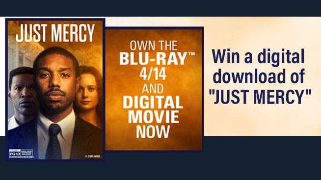 Just Mercy Sweepstakes!