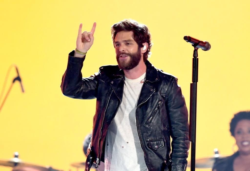 Thomas Rhett Shaved His Beard For The First Time In Five Years [PHOTO]