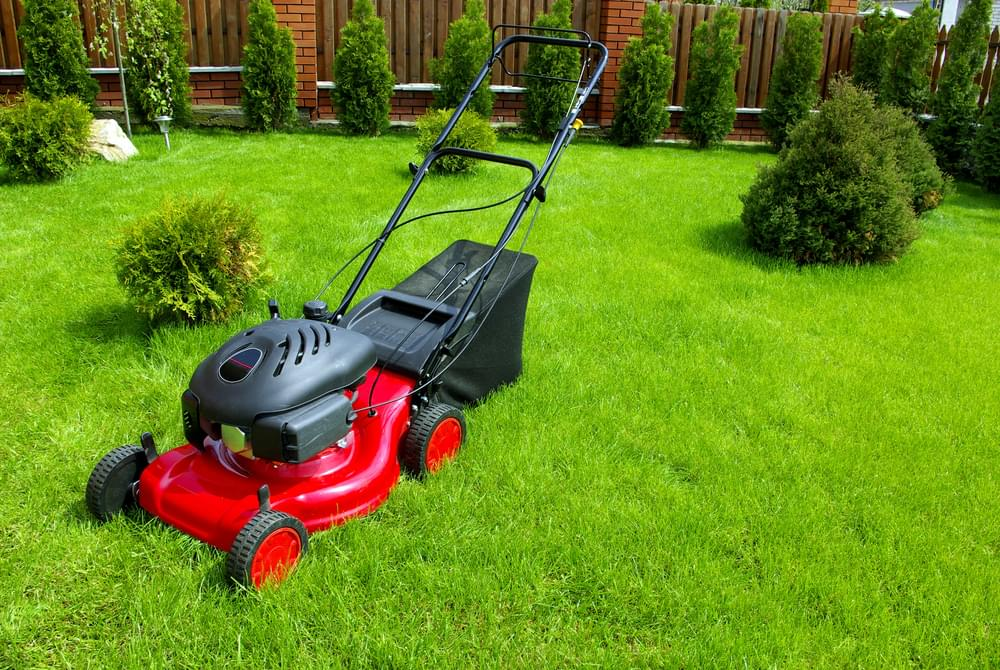 Hands-Free Lawn Mowing Hack [WATCH]