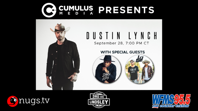 WFMS Virtual Concert With Dustin Lynch, Jimmie Allen And LOCASH