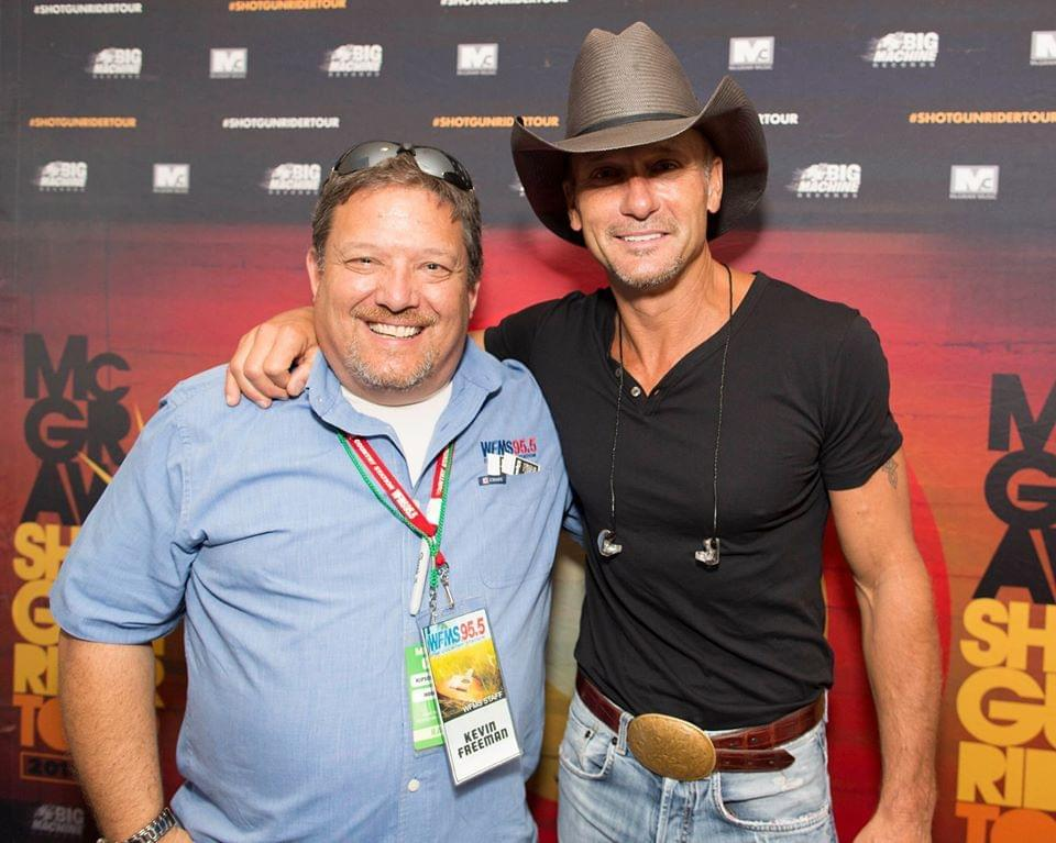 Tim McGraw Says He's In The Best Shape Of His Life