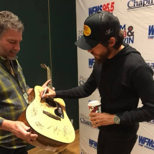 Chris Janson Says His Pants Are Too Tight!