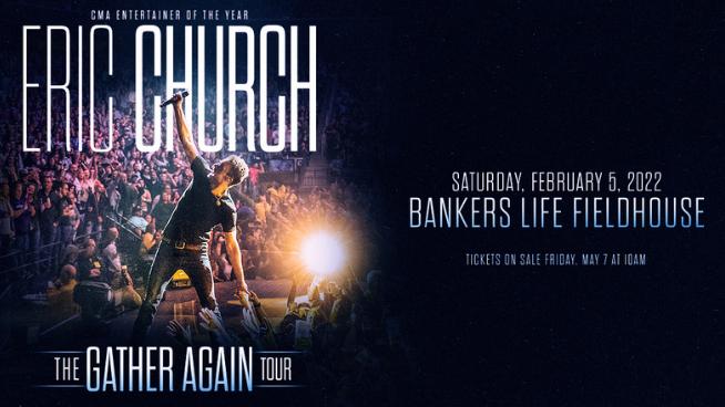 February 5, 2022 – Eric Church