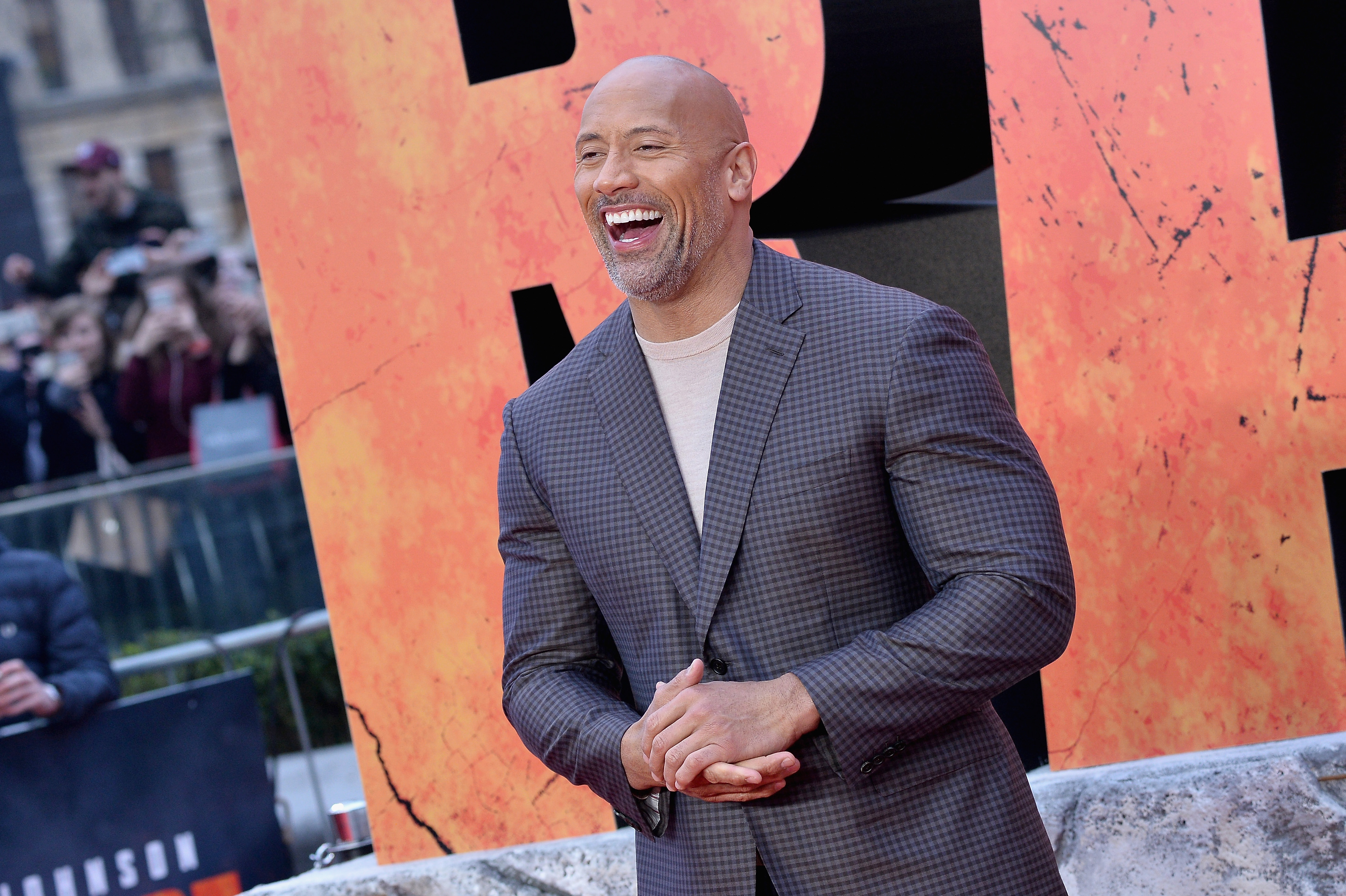 POLL: Nearly Half Of Americans Want The Rock To Run For President