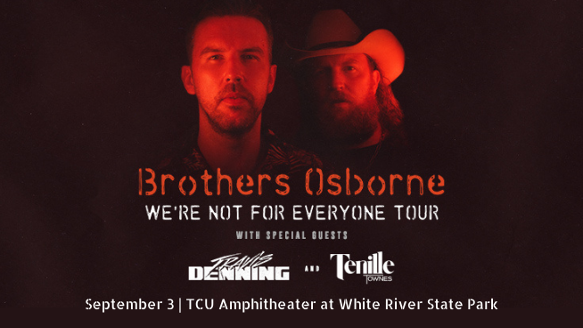 September 3 – Brothers Osborne