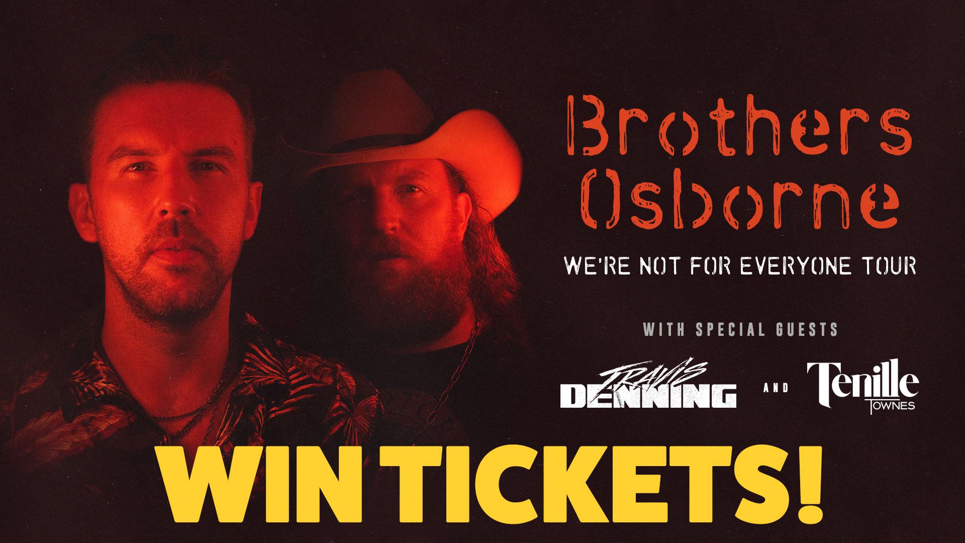 Win Brothers Osborne Tickets