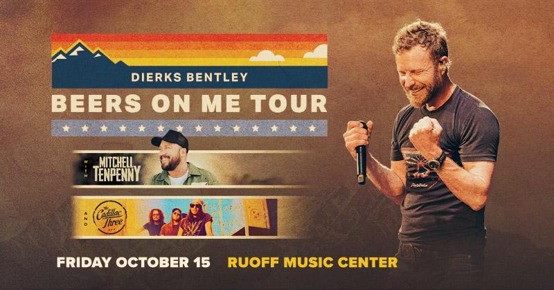 October 15 – Dierks Bentley