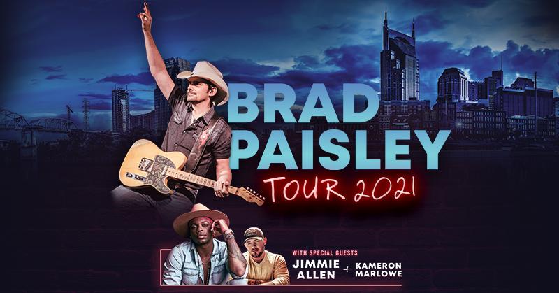 July 31 – Brad Paisley