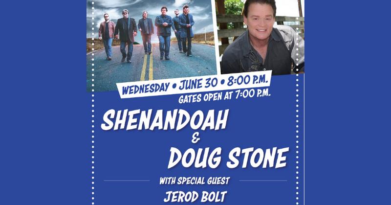 Enter To Win Shenandoah & Doug Stone Tickets