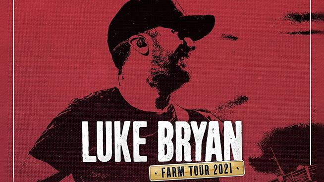 Enter To Win Tickets To The Luke Bryan Farm Tour