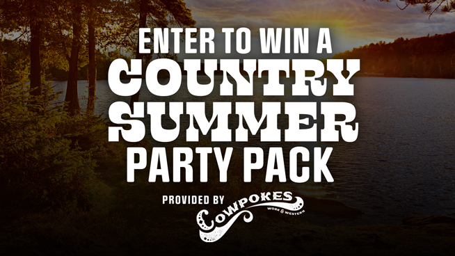 Enter To Win A Country Summer Party Pack From Cowpokes!