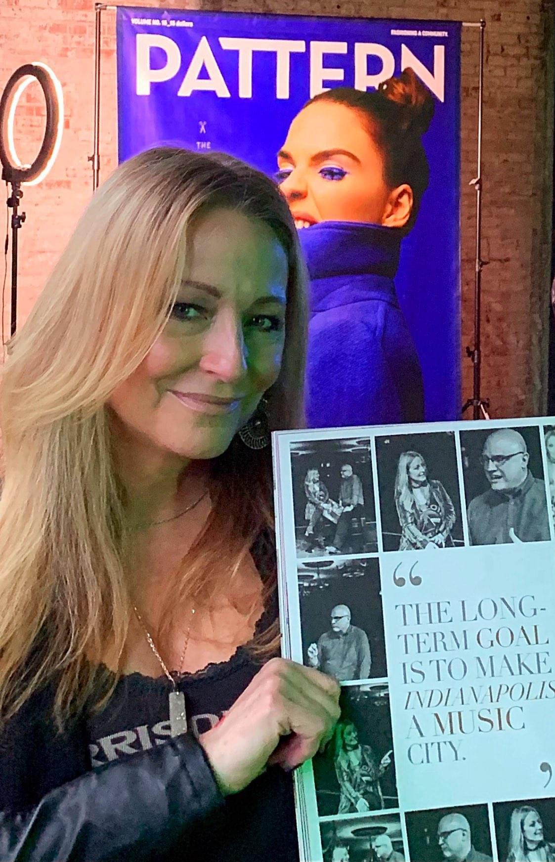 Laura Steele In Pattern Magazine [Photo]