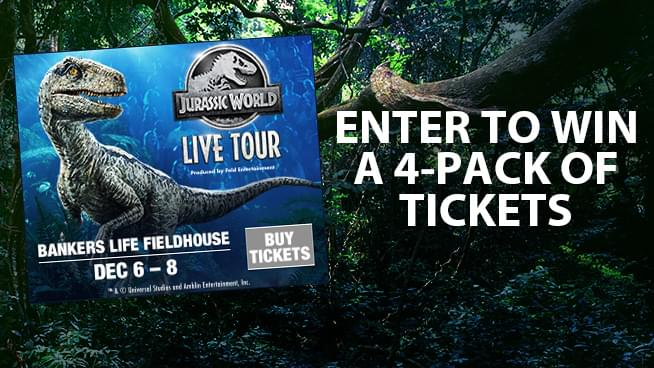 Jurassic World Live Tour Sweepstakes