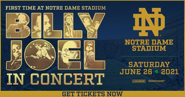 June 26, 2021 – Billy Joel NEW DATE