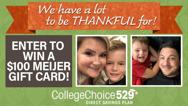 CollegeChoice 529 November 2019 Sweepstakes
