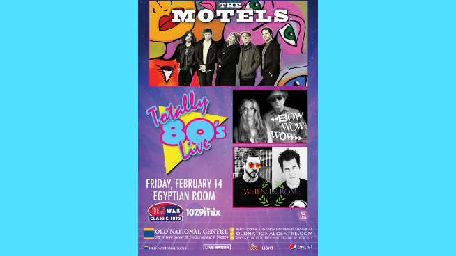 February 14 – Totally 80's Live